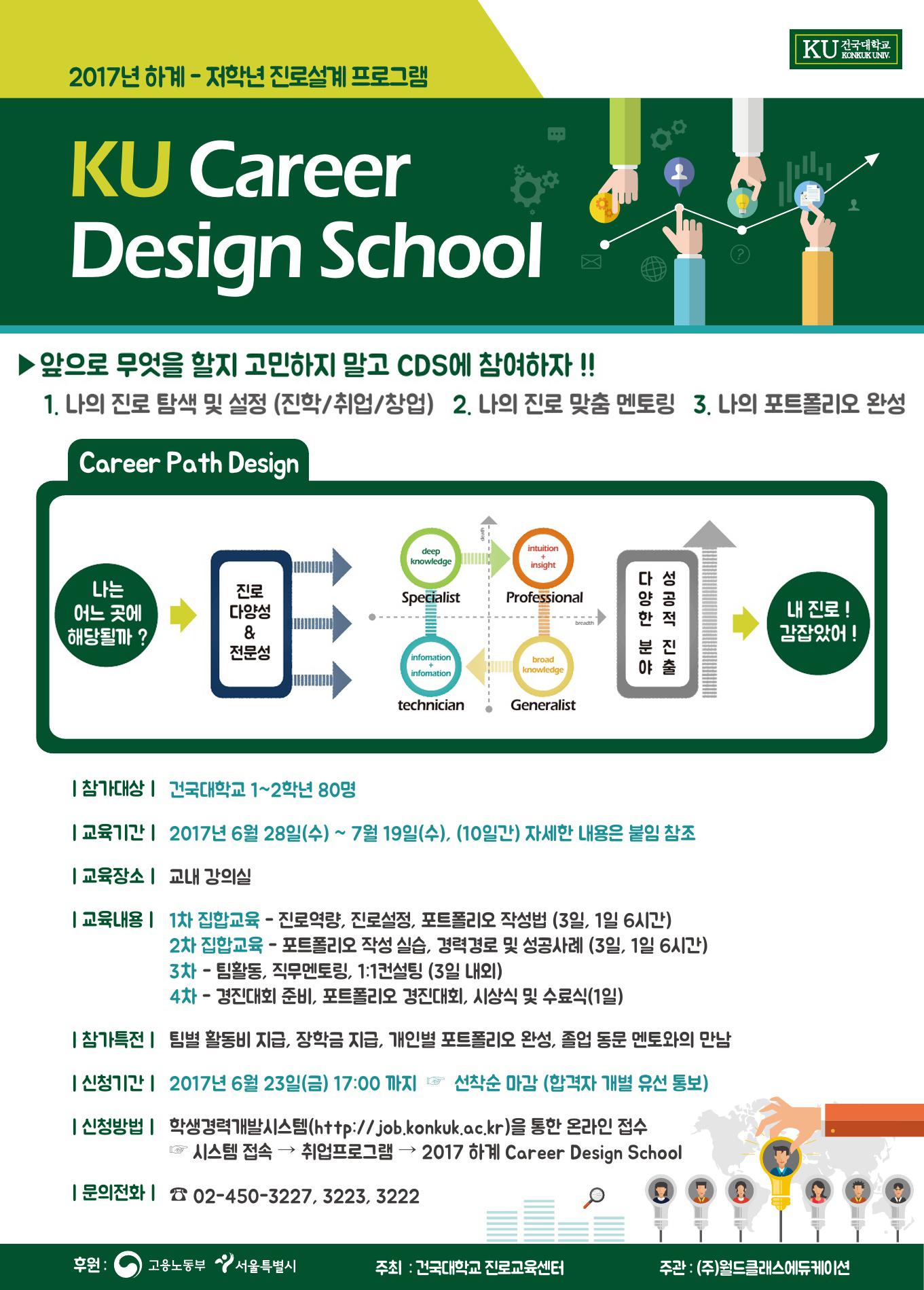 [붙임1] 2017 하계 Career Design School 홍보물.jpg
